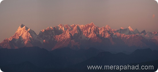 Sunset From Kausani, Uttarakhand