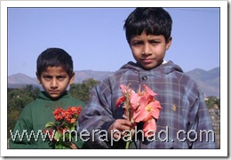 children-bringing-flowers