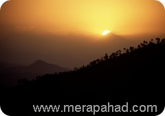 sunset_at_kausani_uttarakhand