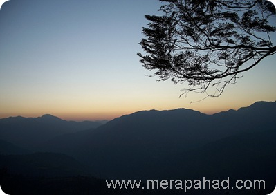 sunset at chamba